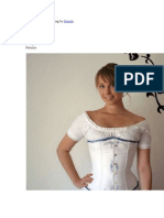 Corset Drafting and Sewing