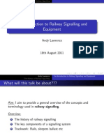 An Introduction to Railway Signalling and Equipment
