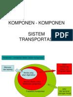 z. Komponen Komponen Transportasi