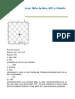 Estudio de Ajedrez Rey, Alfil y Caballo Contra Rey