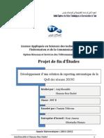 PFE Reporting Automatique de la QoS des Réseaux 2G&3G pour Tems Automatics