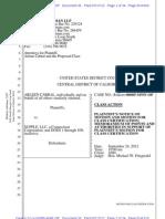A Mot Certify Class Arleen Cabral v Supple LLC
