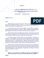 Case 2 the Roman Catholic Apostolic (Davao) vs. LRC