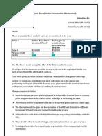 Case Study Analysis- B2B
