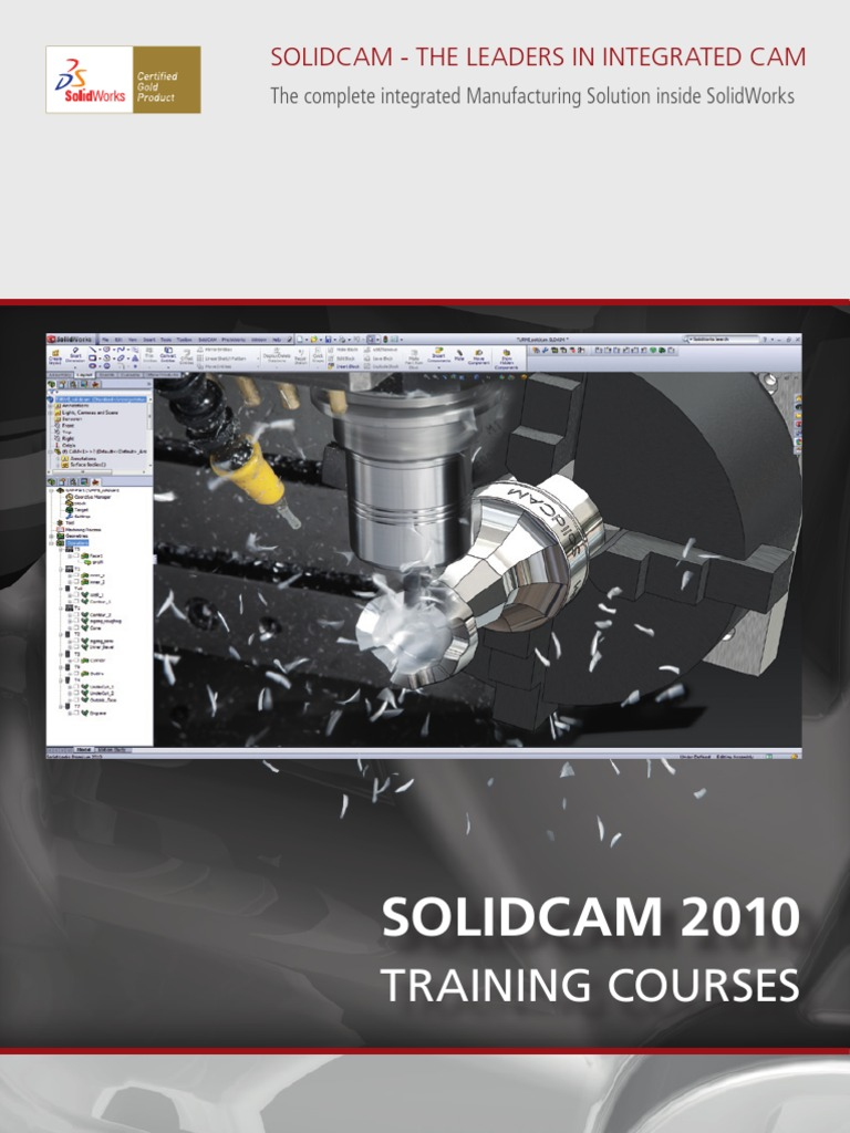 solidcam training machining rotation around a fixed axis rh es scribd com SolidCAM vs CAMWorks SolidCAM 2012 Crack