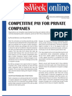 Competitive Pay for Private Companies June 2007