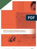 2007 Report on U.S. Contract Workforce