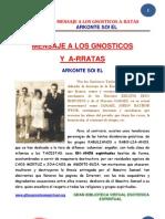 01 16 Mensaje a Los Gnosticos Arratas Www.gftaognosticaespiritual.org Original