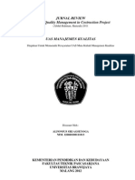 Review Jurnal - Manajemen Kualitas - Alfonsus Sri Agseyoga