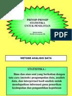 PERANAN Statistik Dalam Penelitian