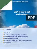 Circle to Land at High and Hot Altitude Airports