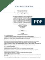 23. Regolamento Interno Consiglio Valle d'Aosta 2011- 6. Titolo - 3 Capo