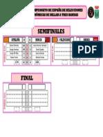 Semifinales Cto-1. España SSAA