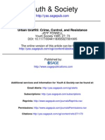 Ferrell - Urban Graffiti. Crime, Control, And Resistance