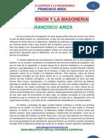 25 03 Rene Guenon y La Masoneria Ariza Www.gftaognosticaespiritual.org