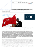 Cagaptay, Soner - What's Really Behind Turkey's Coup Arrests? (Foreign Policy, 25 Feb 2010)