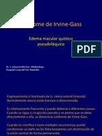 Síndrome de Irvine-Gass