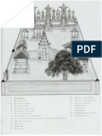 Sketsa Pura [Sketch of Balinese Temple]