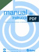 Manual Del Horno