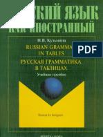 Russian Grammar in Tables 2012