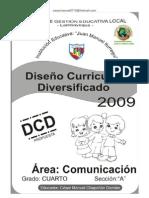 DISEÑO CURRICULAR DIVERSIFICADO COMUNICACIÓN