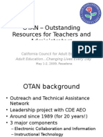 OTAN – Outstanding Resources