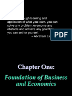 Chapter 01-Foundation of Business and Economics