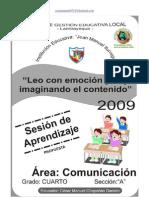 SESION DE APRENDIZAJE COMUNICACIÓN