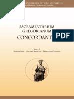 Sacramentarium gregorianum concordantia