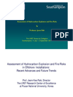 Assessment of Hydrocarbon Fire Risk and Explosion