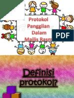 protokol dalam majlis rasmi