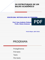 Slides Metodologia