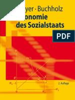Ökonomie des Sozialstaats,  Friedrich Breyer, Wolfgang Buchholz
