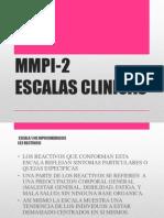 Mmpi-2. Escalas Clinicas