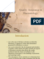 Quality Assurance in Haematology