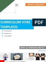Curriculum Vitae Templates.pdf
