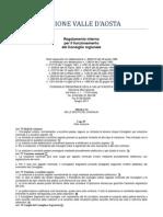 24. Regolamento Interno del Consiglio della Valle d'Aosta 2011- 6. Titolo - 4 Capo