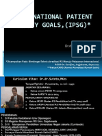 International Patient Safety Goals_ IPSG) Bimb Teknis RS