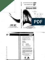 Construction Cost HandBook Malaysia 2005