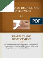 Methods of Training and Development(Neeraj)