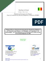 Rapport Daudit Passation de Marches de Quatre Ministeres (MEF - ME - MEPN - MAH) 2004