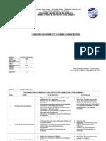Programa de Proyecto I, 2012-1
