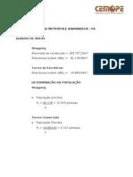 PROJETO DESCRITIVO DE ÁGUA, ESGOTO E DRENAGEM PLUVIAL