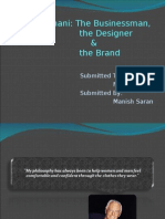 GIORGIO ARMANI - Businessman, designer & brand