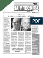 Dialogo Sobre La Natruraleza Humana