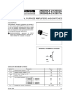 2n2907-General Purpose Amplifiers and Switches