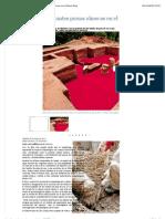 El Universal - Cultura - Hallan Importantes Piezas Olmecas en El Palacio Rojo