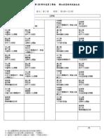 博士班資格考試座位表