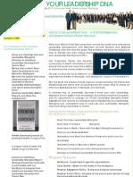 Professional Developent Program - Personal Leadership Brochure