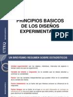 UNIDAD IA PRINCIPIOS BASICOS DE LOS DISEÑOS EXPERIMENTALES